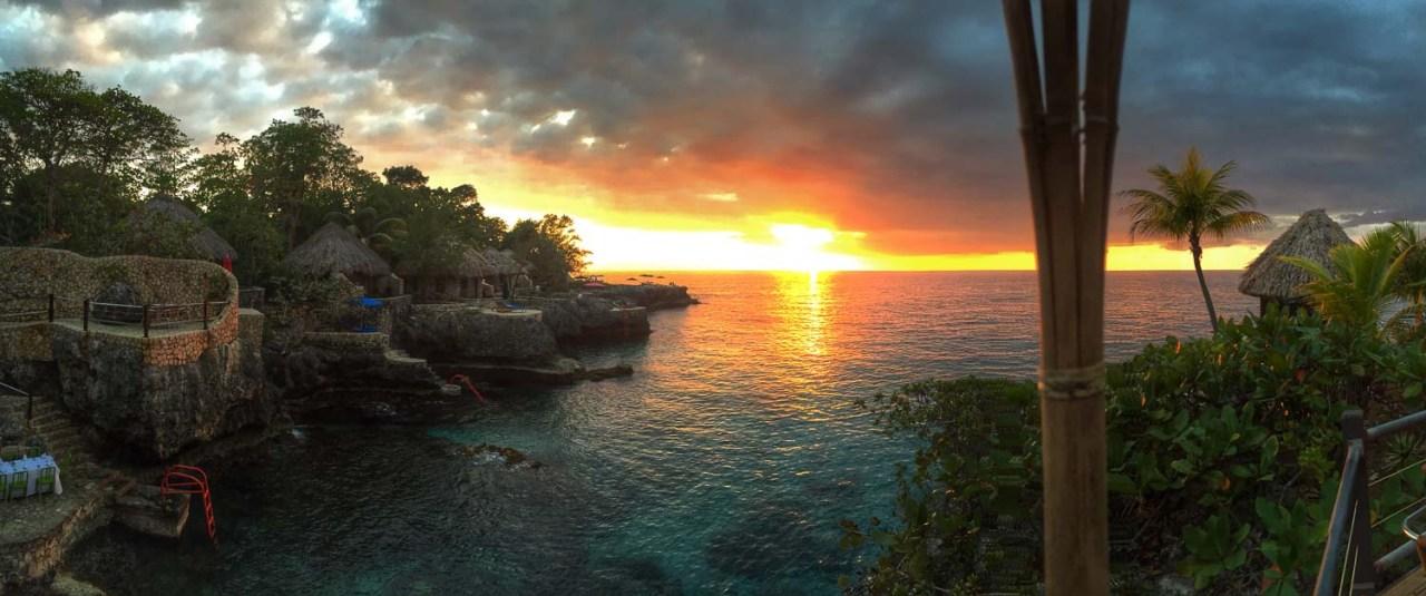 negril sunset jamaica