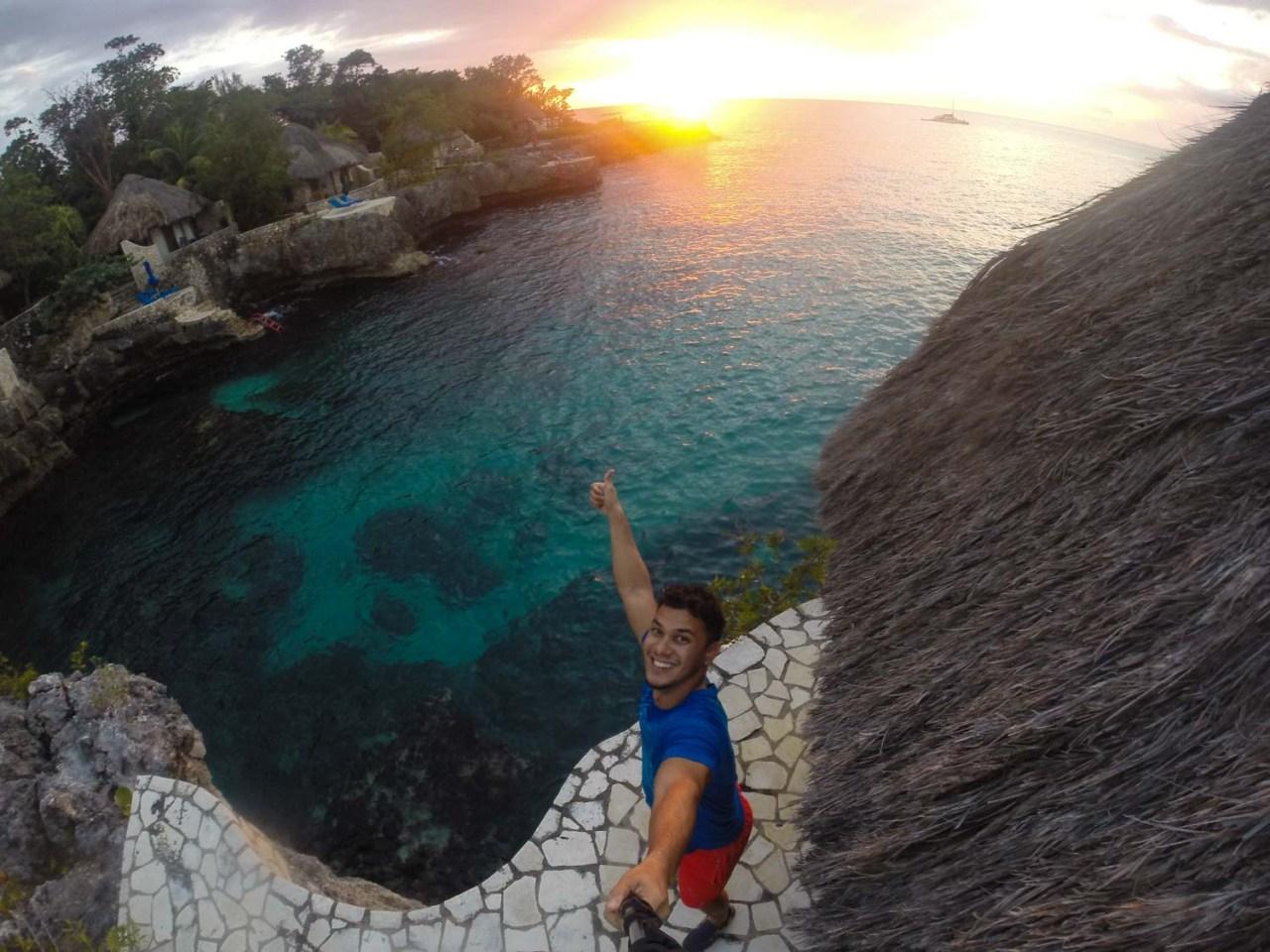 rockhouse jamaica sunset