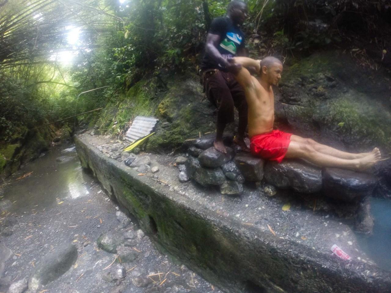 Bath massage jamaica st thomas