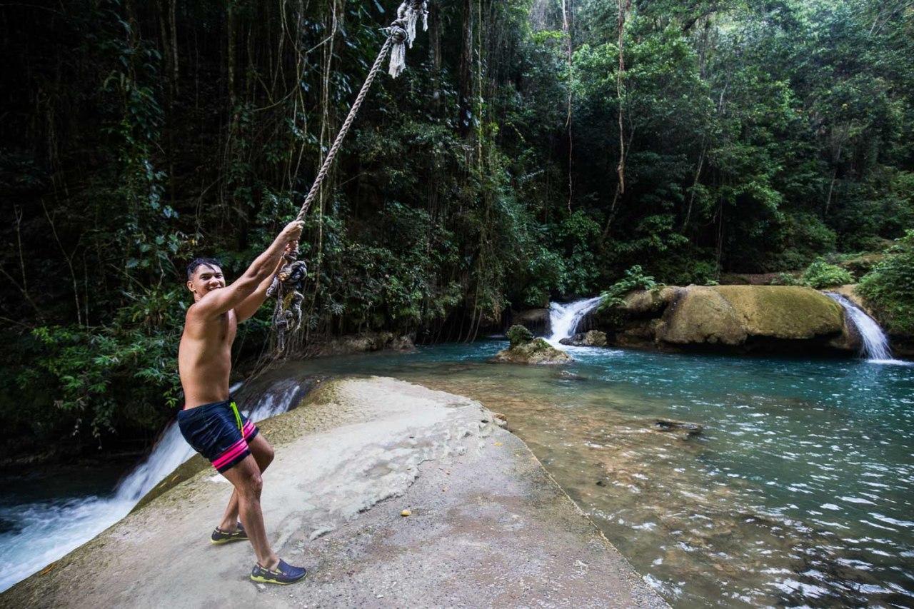 y.s falls jamaica