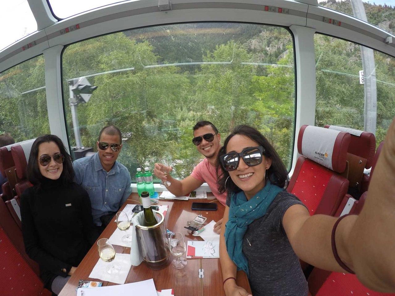 train ride glacier express