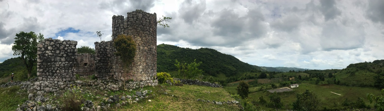 jamaica countrside ruins
