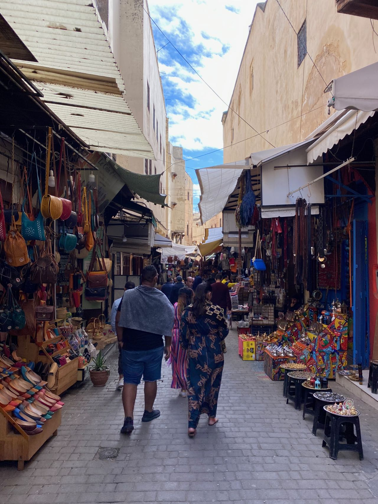 walking through Fez