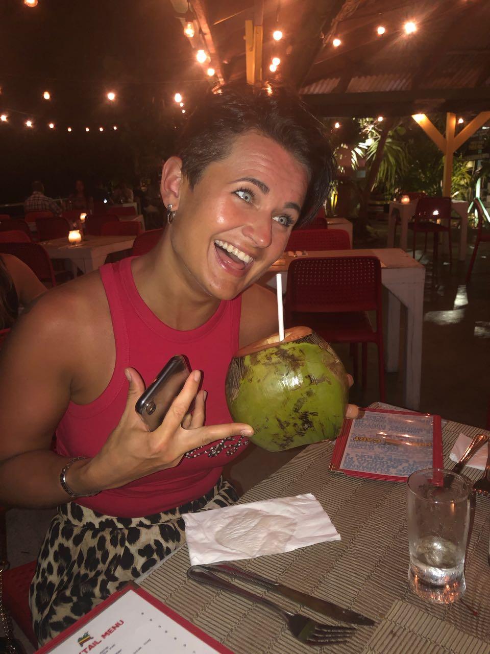 drunken coconut pushkart